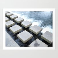 Stepping Stone Art Print