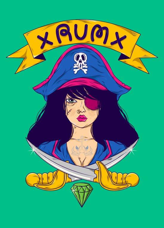 Dangerous Girls - Pirate Art Print