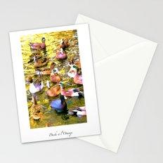 Ducks à l'Orange Poster Stationery Cards