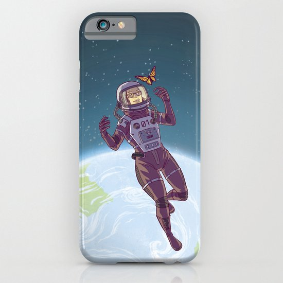Space Butterfly iPhone & iPod Case