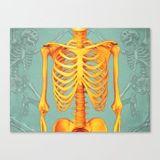 Skeleton II Canvas Print