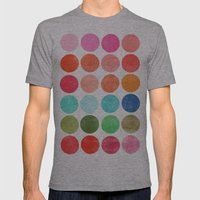 Colorplay 5 Mens Fitted Tee Athletic Grey SMALL