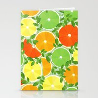 A Slice of Citrus Stationery Cards