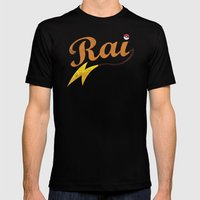 Rai Mens Fitted Tee Black SMALL