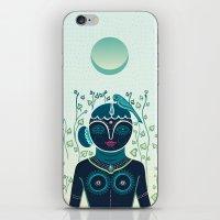 Indian woman iPhone & iPod Skin