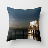 film burlington reflection Throw Pillow