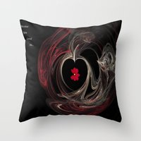 Because you loved me Throw Pillow
