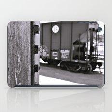 Urban train car iPad Case