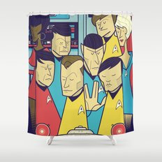 Star Trek Shower Curtain