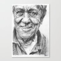 Old man Canvas Print