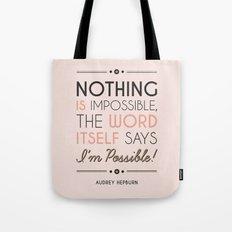 I'm Possible! Tote Bag