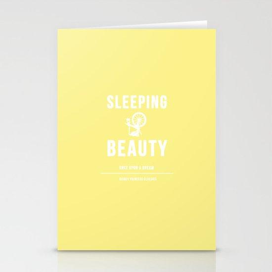 Disney Princesses: Sleeping Beauty Minimalist Stationery Card