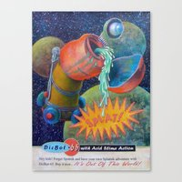 Splatnik Adventure Canvas Print