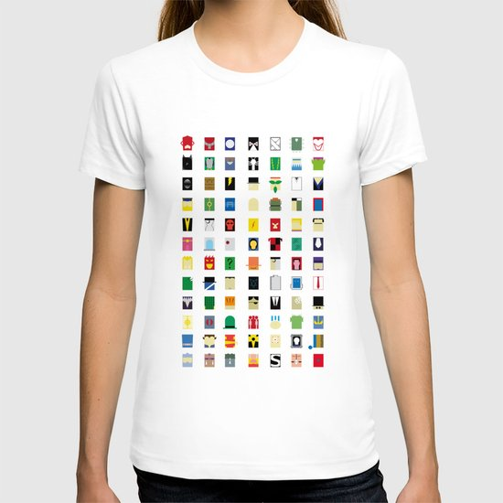 Minimalism Villains T-shirt