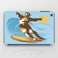 God Surfed iPad Case