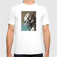Akamataa Mens Fitted Tee White SMALL