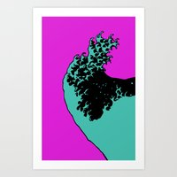 Wave Rider No.4 Art Print