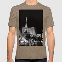 Las Vegas Mens Fitted Tee Tri-Coffee SMALL