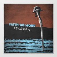 7 Inch Series: Faith No … Canvas Print
