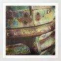 Chevy Patina Art Print