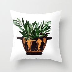 Ancient Greek 2 Throw Pillow