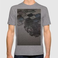 Pattern2 Mens Fitted Tee Athletic Grey SMALL