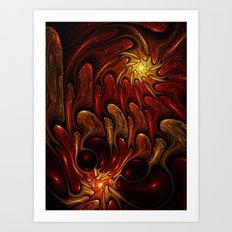 Elements: Fire Art Print