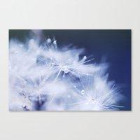 FLUFFY SNOW Canvas Print
