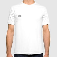 EiThEr Or LiMiTaTiOnS Mens Fitted Tee SMALL White