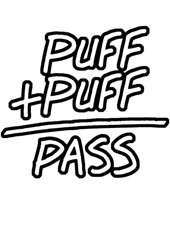 Puff + Puff = Pass Canvas Print