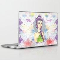 princess Laptop & iPad Skins featuring Princess by Lagoonartastic