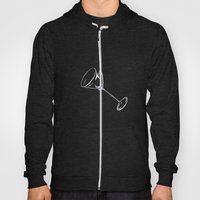 here's to drinks in the dark at the end of my rope Hoody