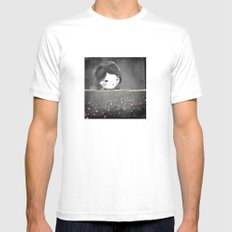 Bed star Mens Fitted Tee White SMALL