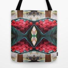 Raspberry Harvest Tote Bag