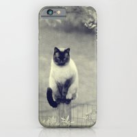 iPhone & iPod Case featuring Sitting, Waiting, Wishing II by Christine Hall