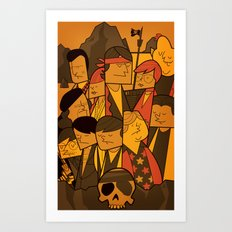 The Goonies (variant aspect ratio) Art Print