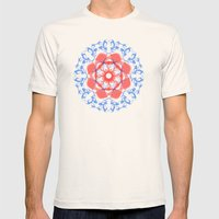 NIRODHA Mens Fitted Tee Natural SMALL