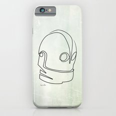 One line Iron Giant iPhone 6 Slim Case