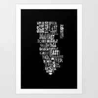 Alphabet Cities 002 - Ne… Art Print