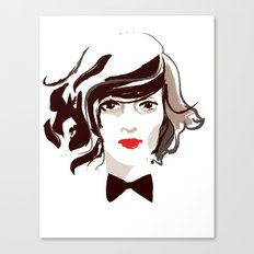 Fancy Face Canvas Print