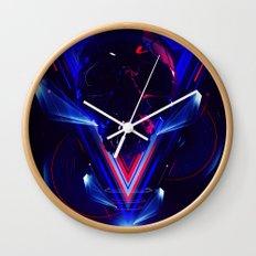 Rage Wall Clock