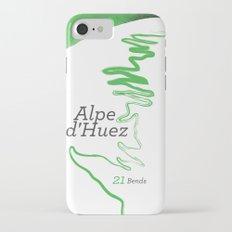 Famous Climbs: Alpe d'Huez 1, Modern Spring iPhone 7 Slim Case