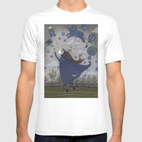 Violetta Dreaming Mens Fitted Tee White SMALL