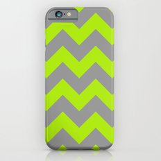 Chevron Lime Slim Case iPhone 6s