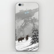 1920 - Winter Walker iPhone & iPod Skin