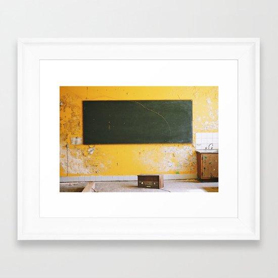 Abandonment Framed Art Print