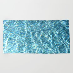 Swimmingpool #2 Beach Towel