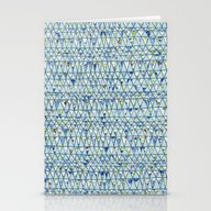 Stationery Cards featuring Spring Pattern by Anita Ivancenko