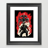 Hellboss Framed Art Print