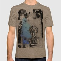 Lost love Mens Fitted Tee Tri-Coffee SMALL